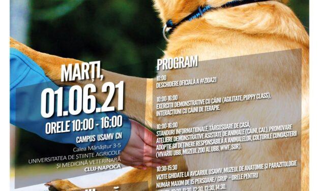 Ziua Interacțiunii Om-Animal, în campusul USAMV Cluj-Napoca, de 1 Iunie